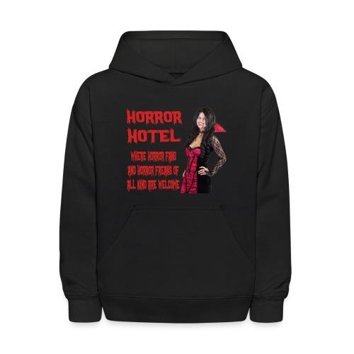 Horror Hotel - Tagline - Kids' Hoodie