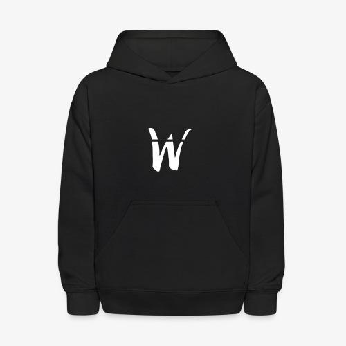 W White Design - Kids' Hoodie