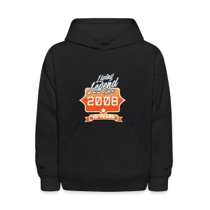 LIVING LEGEND SINCE 2008 10th Birthday Gift Idea - Kids' Hoodie