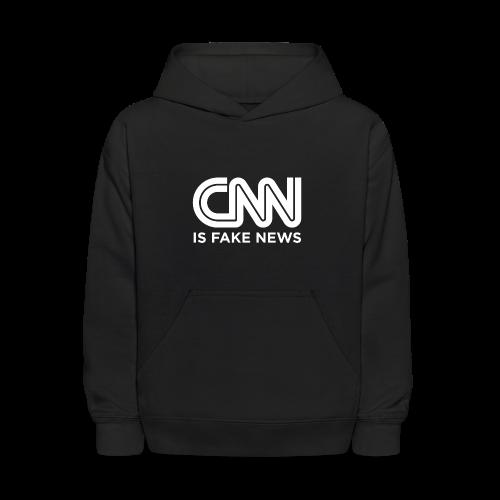 CNN Is Fake News - Kids' Hoodie