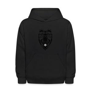 Bear Graphic Valar - Kids' Hoodie