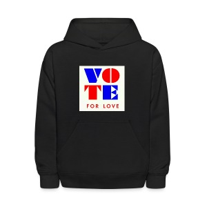 vote4love-sample - Kids' Hoodie