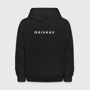 Orishas (Medium Off-White Letters) - Kids' Hoodie