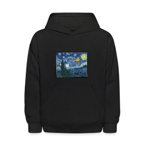 Starry Night Drone - Kids' Hoodie