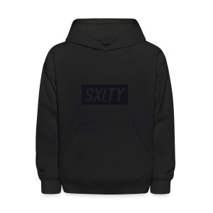 *Dark Blue SXLTY Logo* REGULAR TSHIRT. - Kids' Hoodie