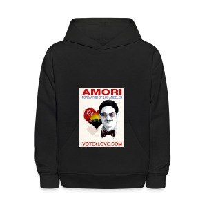 Amori for Mayor of Los Angeles eco friendly shirt - Kids' Hoodie