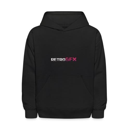 RetroSFX logo - Kids' Hoodie