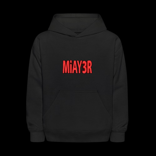 Red MiAY3R Logo - Kids' Hoodie