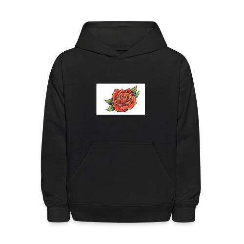 The rose - Kids' Hoodie