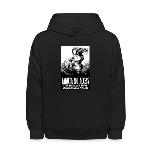 Lakota No Access, Stop the Black Snake, NODAPL - Kids' Hoodie