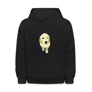 Golden Retriever puppy - Kids' Hoodie