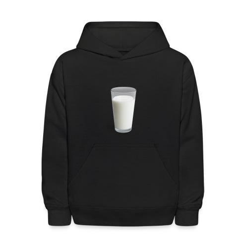 Milk On Shirt - Kids' Hoodie