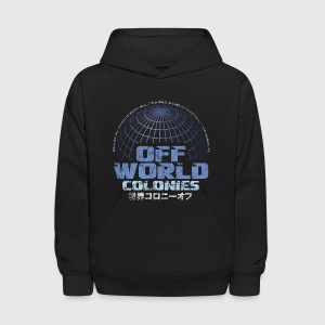Off World Colonies - Kids' Hoodie