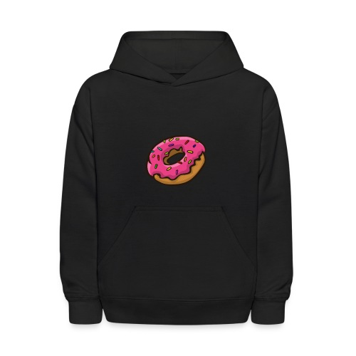 ArticFoxClothing Donut pink icing design - Kids' Hoodie