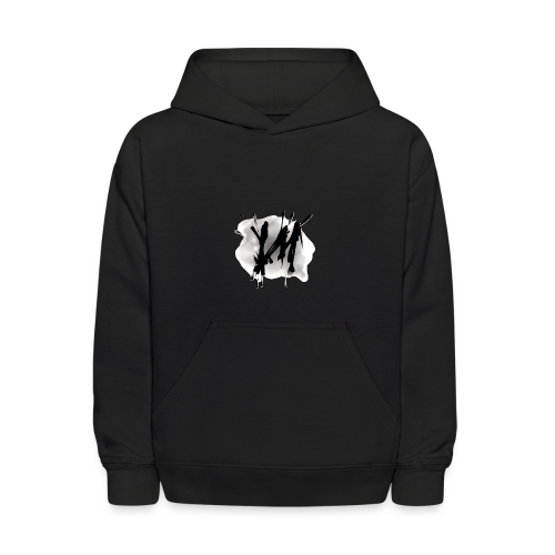 Vertical Minds splatter backgrounded - Kids' Hoodie