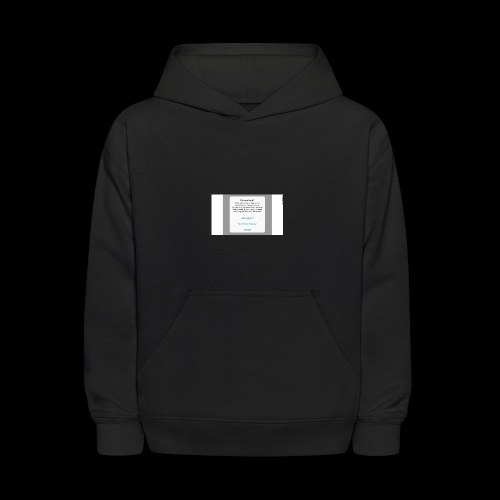 Don't give in - Kids' Hoodie