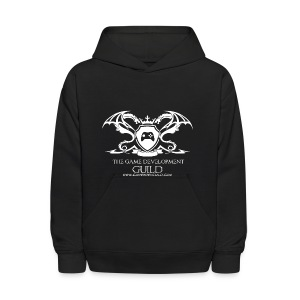 White Game Development Guild Crest - Kids' Hoodie