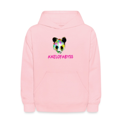 Axelofabyss panda panda paint - Kids' Hoodie