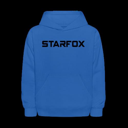 STARFOX Text - Kids' Hoodie