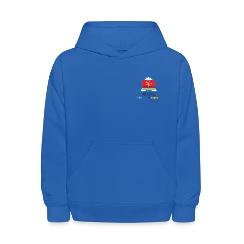 EP Logo with More Time For Happy! - Kids' Hoodie