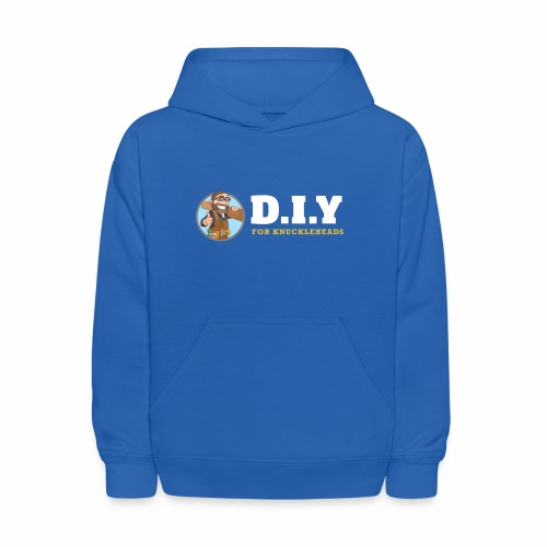 DIY For Knuckleheads Logo. - Kids' Hoodie