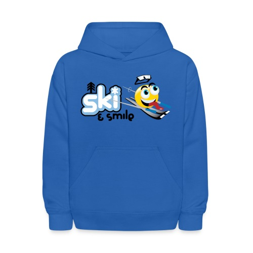Smile And Ski - Kids' Hoodie