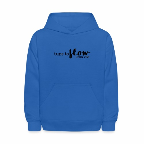 Tune to Flow - Design 3 - Kids' Hoodie