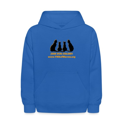 TNR JOIN OUR COLONY - Kids' Hoodie