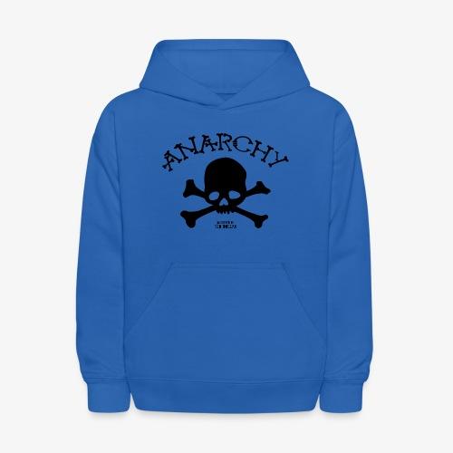 Anar Skull black - Kids' Hoodie