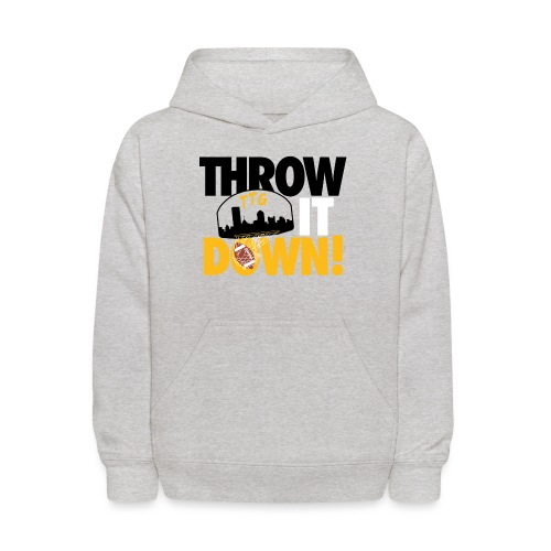 Throw it Down! (Turnover Dunk) - Kids' Hoodie