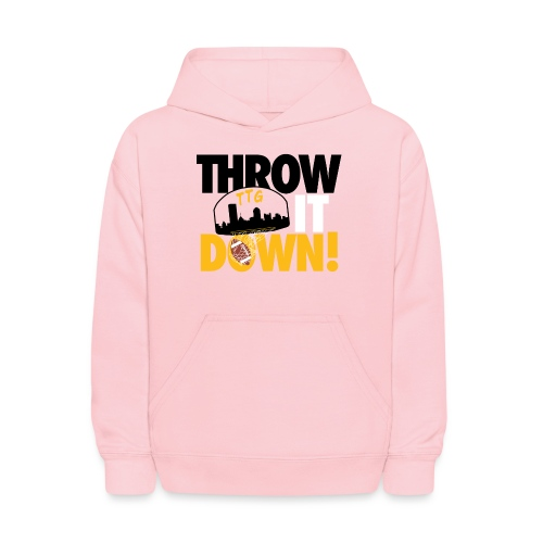 Throw it Down! (Turnover Dunk) - Kids' Hoodie