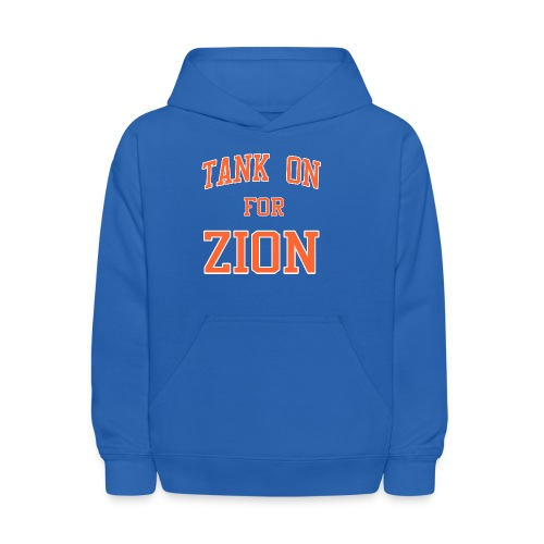 Tank On For Zion - Kids' Hoodie