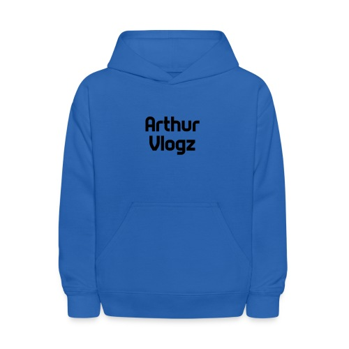 Answer Text Arthur Vlogz Colored Apperal - Kids' Hoodie