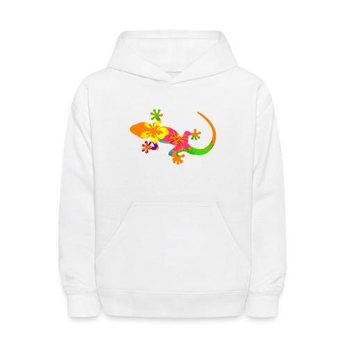 Gecko colorful - Kids' Hoodie