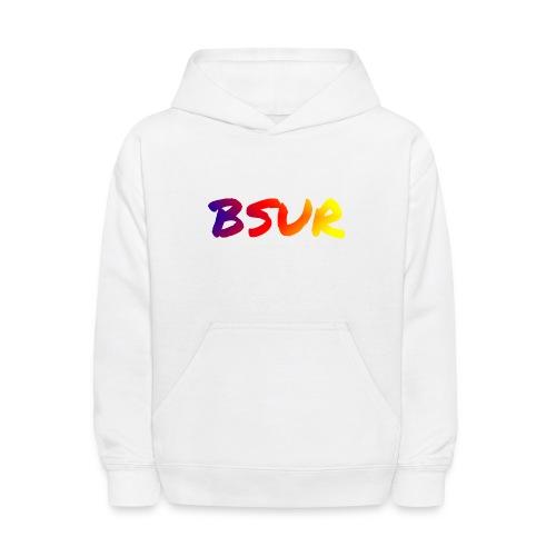 BSUR colorful - Kids' Hoodie