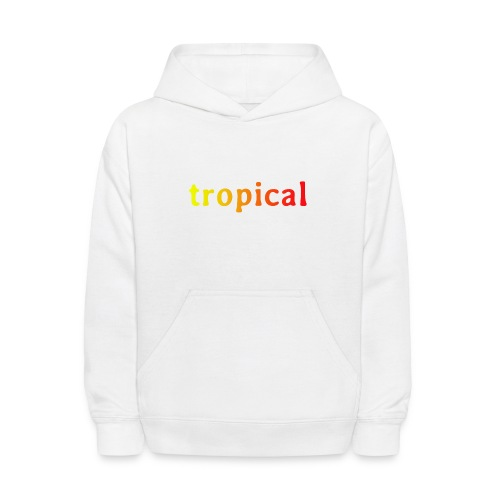 tropical - Kids' Hoodie