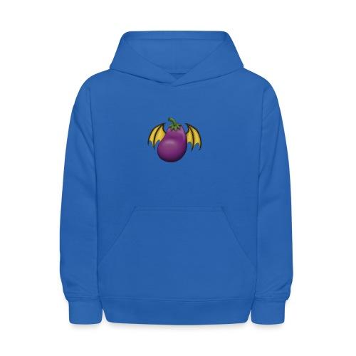 Eggplant Logo - Kids' Hoodie