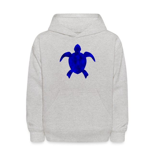 Sea turtle blue
