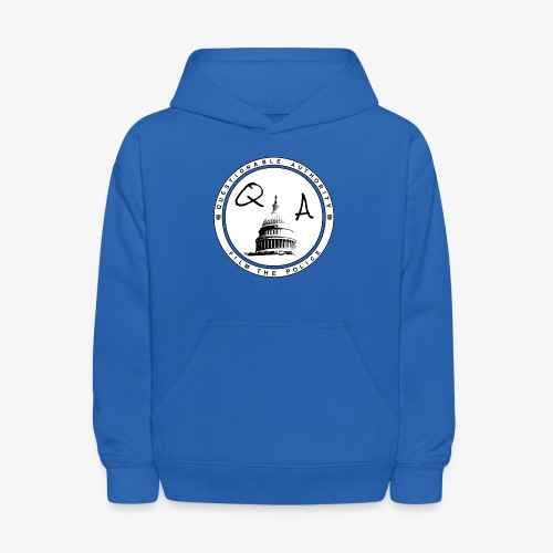 Questionable Authority Film the Police - Kids' Hoodie