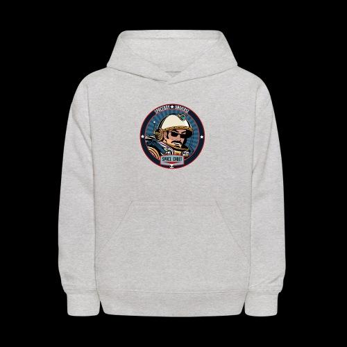Spaceboy - Space Cadet Badge - Kids' Hoodie