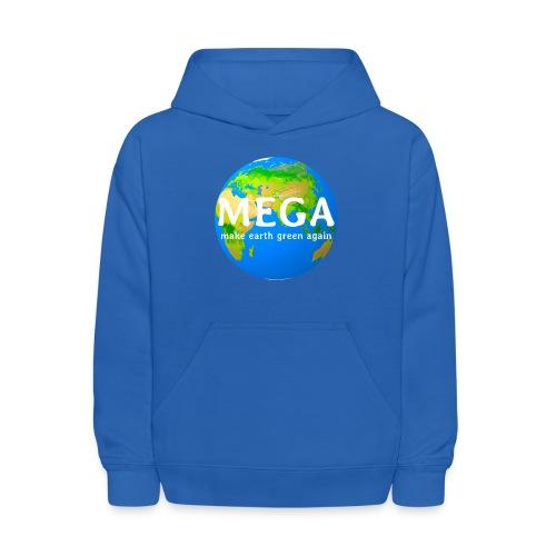 MEGA - make earth green again - Kids' Hoodie