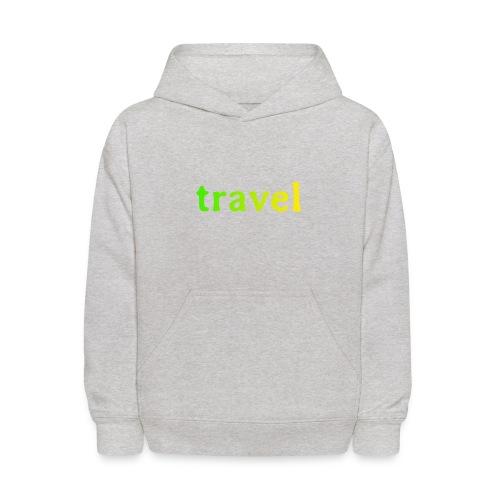 travel - Kids' Hoodie
