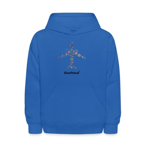 Time To Travel - Kids' Hoodie