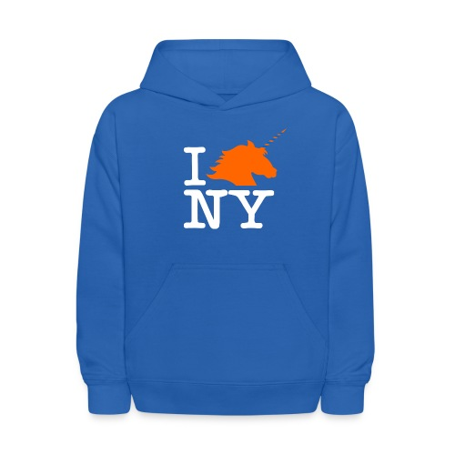 I Unicorn New York (Kristaps Porzingis) - Kids' Hoodie