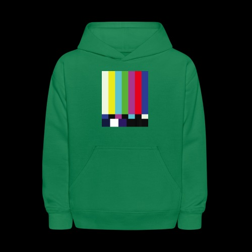 This is a TV Test | Retro Television Broadcast - Kids' Hoodie