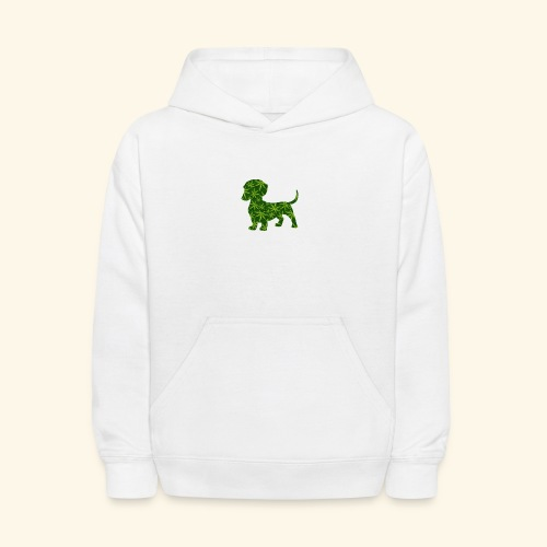 PUFFY DOG - PRESENT FOR SMOKING DOGLOVER - Kids' Hoodie