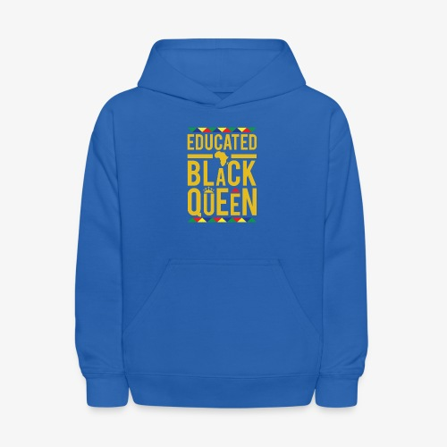 Educated Black Queen - Kids' Hoodie