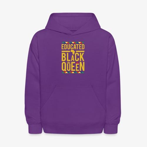 Educated Black Queen - Kids' Hoodie
