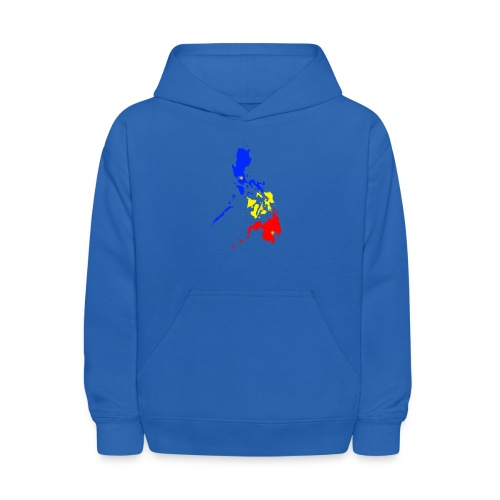 Philippines map art - Kids' Hoodie