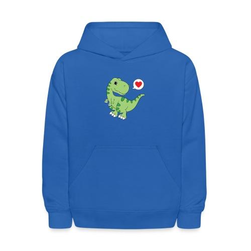 Dinosaur Love - Kids' Hoodie